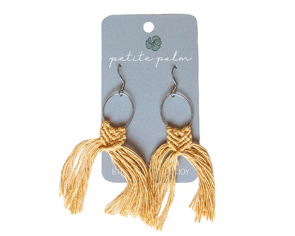 Mini Mac Earrings - Honey