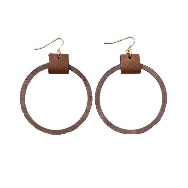 Simple Hoop Earrings - Sienna