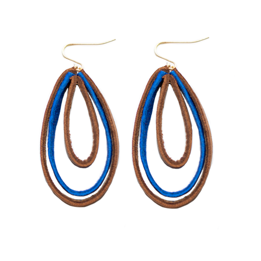 Triple Hoop Earrings- Bledine