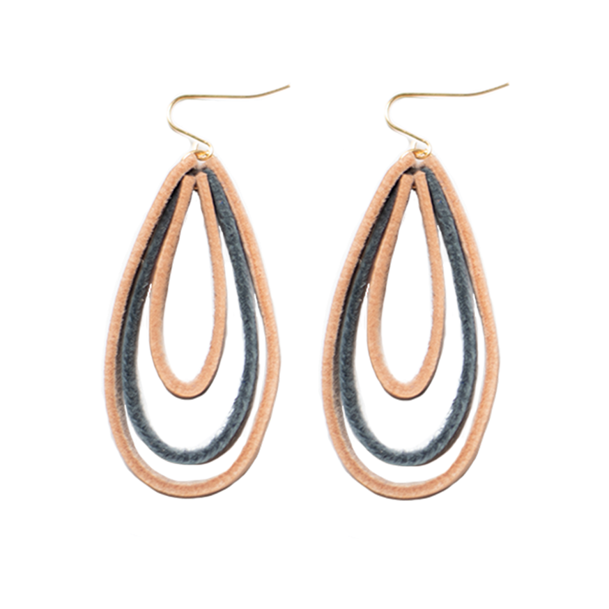 Triple Hoop Earrings- Bertha