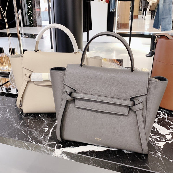 CELINE NANO BELT BAG IN GRAINED CALFSKIN - 189003ZVA * £1550