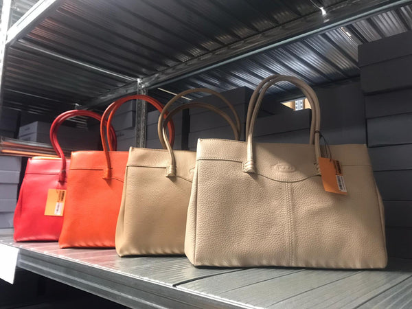 TOD'S Calfskin Tote Bag - 貨號待補 * £206