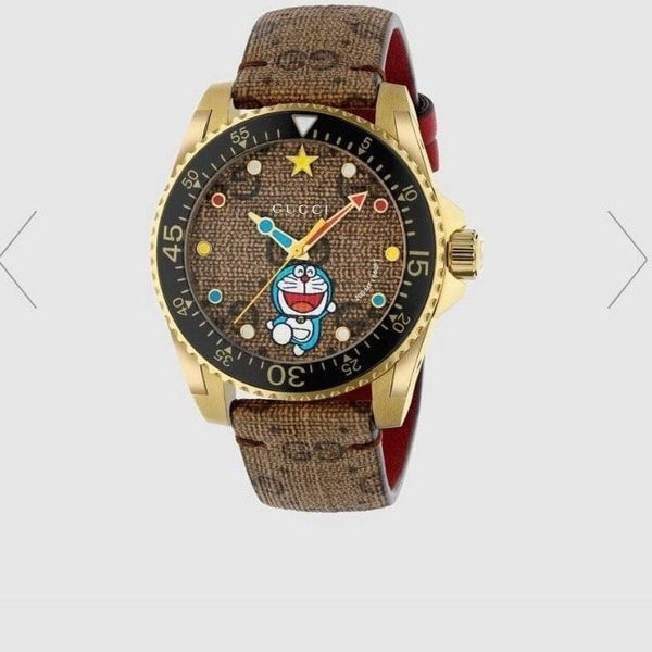 Gucci Doraemon x Gucci Dive watch, 40mm - 656375 * £ 1150