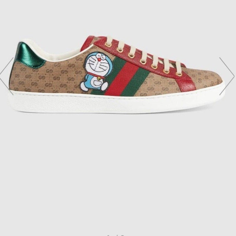 Gucci Doraemon x Gucci Men's Ace Sneaker - 655021 * £520