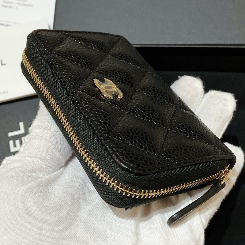 Chanel Classic Zipped Coin Purse - AP0216 * £430