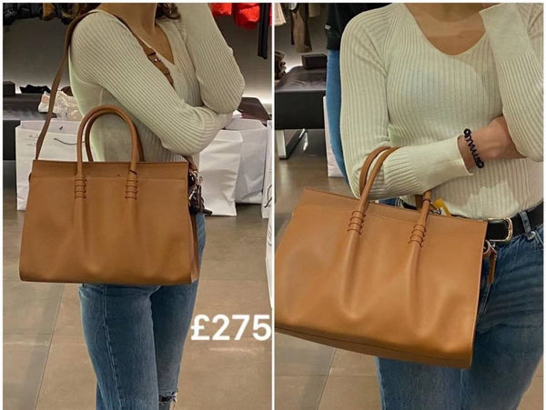TOD'S Calfskin Tote Bag - 貨號待補 * £330