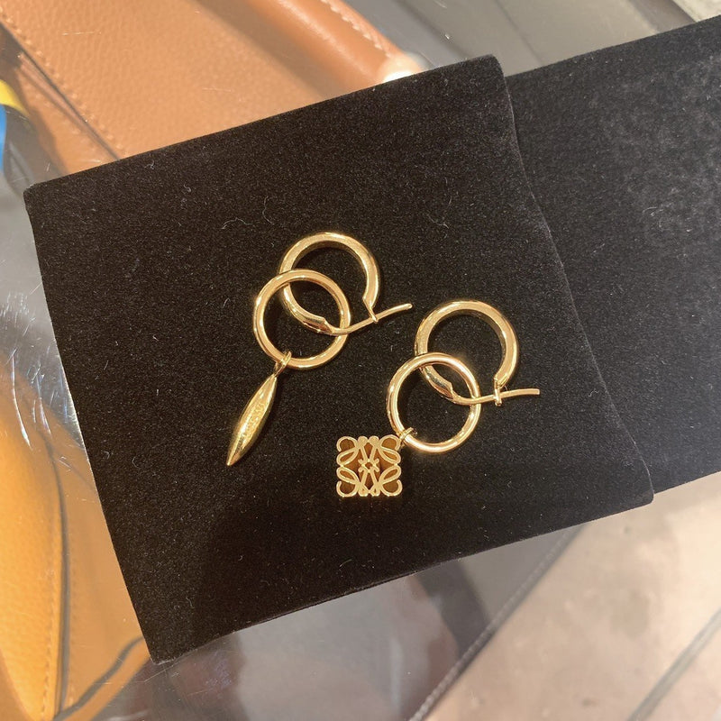 LOEWE Anagram Asymmetric Earrings - J821239X02 * £225