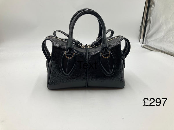 TOD'S Shoulder Bag Black - 貨號待補 * £297