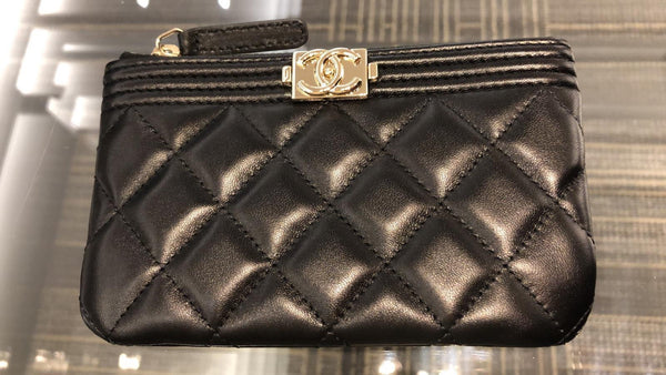 Chanel Boy Chanel Small Pouch - 貨號待補 * £520
