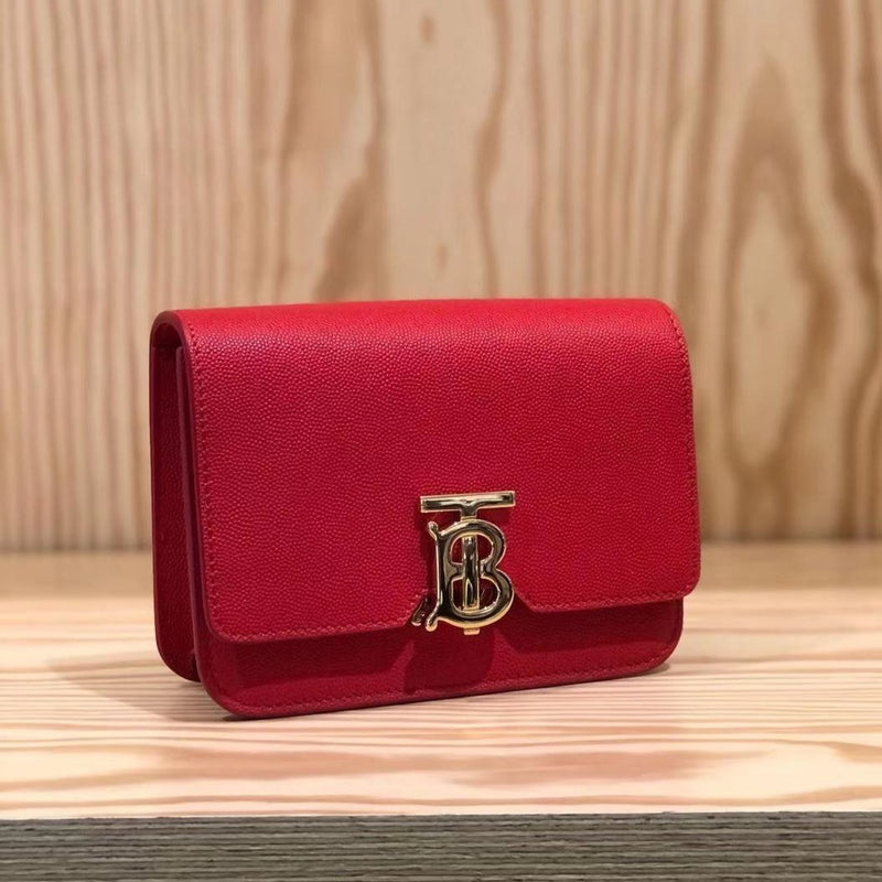 Burberry TB Bag Bright Red - 80206111 * £690