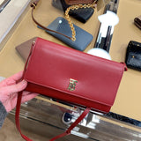Burberry Wallet On Chain with TB Logo長夾鏈條包 * £229