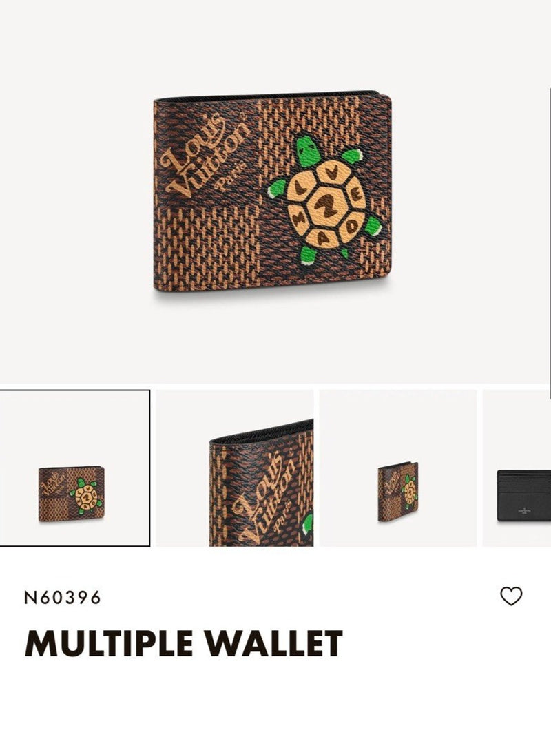 LV MULTIPLE WALLET 烏龜 - N60396 * £380