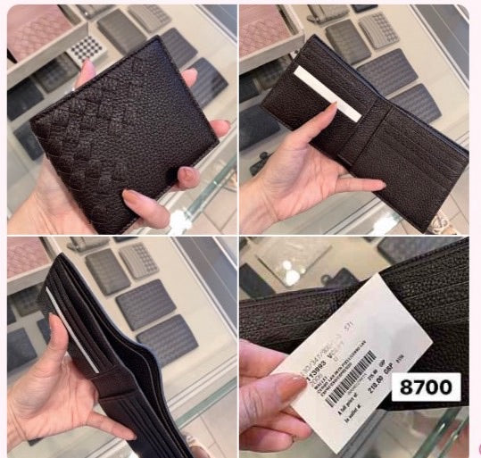 Bottega Veneta Wallet (Brown 鹿皮)-£210