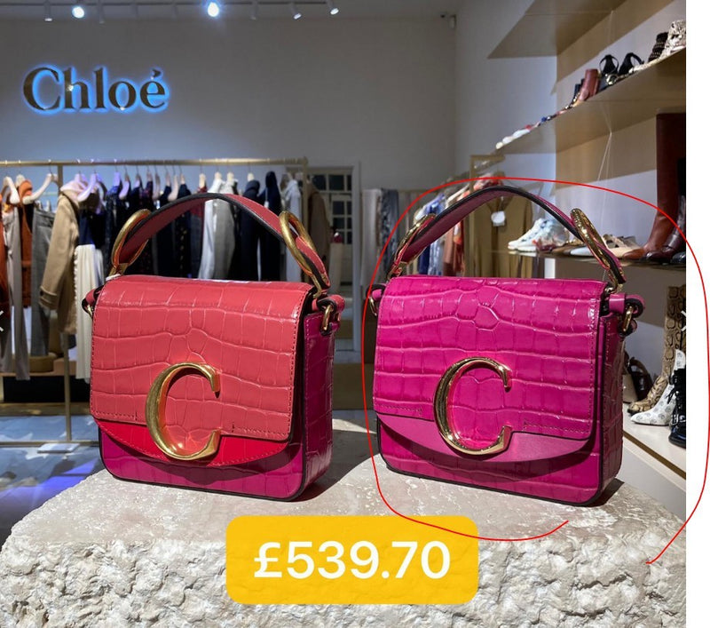 Chloe Mini Bag 鱷魚皮 - CHC19US193A876Q5 * £539.7