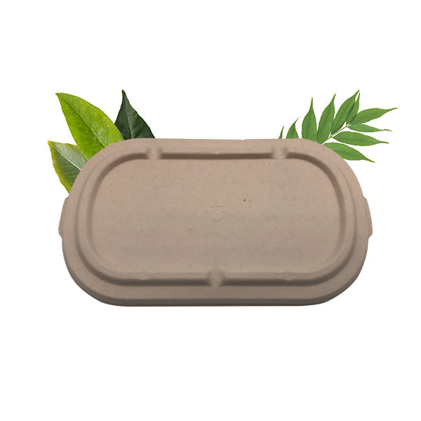 Bagasse Multi-fit Lid - Fits BSC/B2C850/1000 (50 Per Pack)