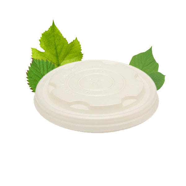 250ml Enviro Bowl CPLA Lid (50 Per Pack)