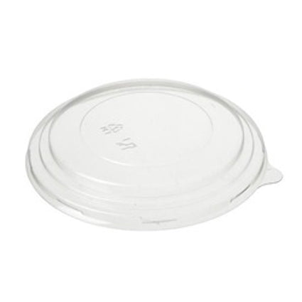 PET LID FITS 500ml BAGASSE BOWL (200 per pack)