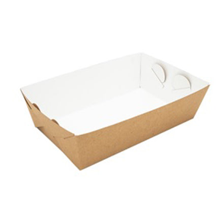 Compostable Open Deli Box (23x15.5x5.5cm) (50 Per Pack)