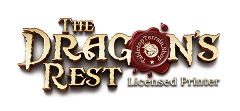 The Dragon's Rest Licensed Printer logo