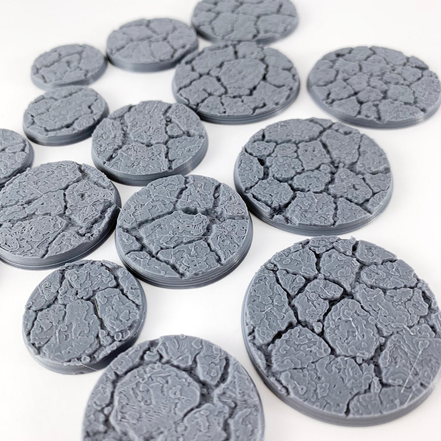 Cracked Earth Themed Bases
