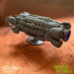 Sci-fi Utility Ship for 32mm Based Minis