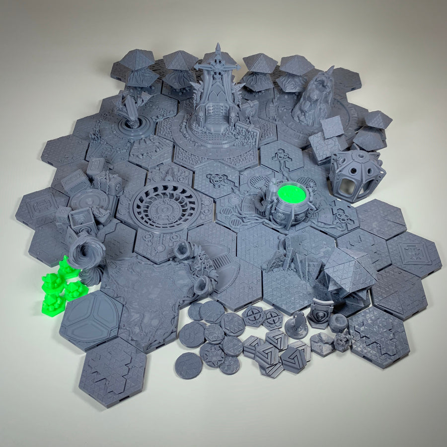Escalation Compatible Custom Tile and Marker Set