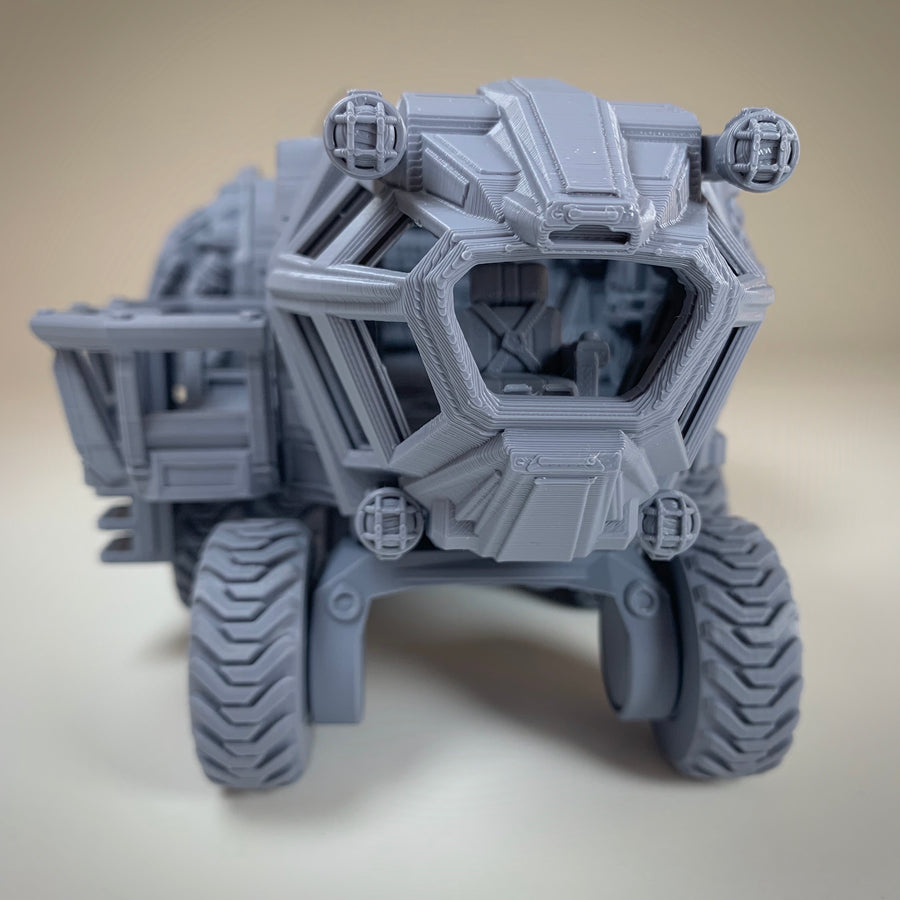 Sci-Fi Scarab Land Vehicle