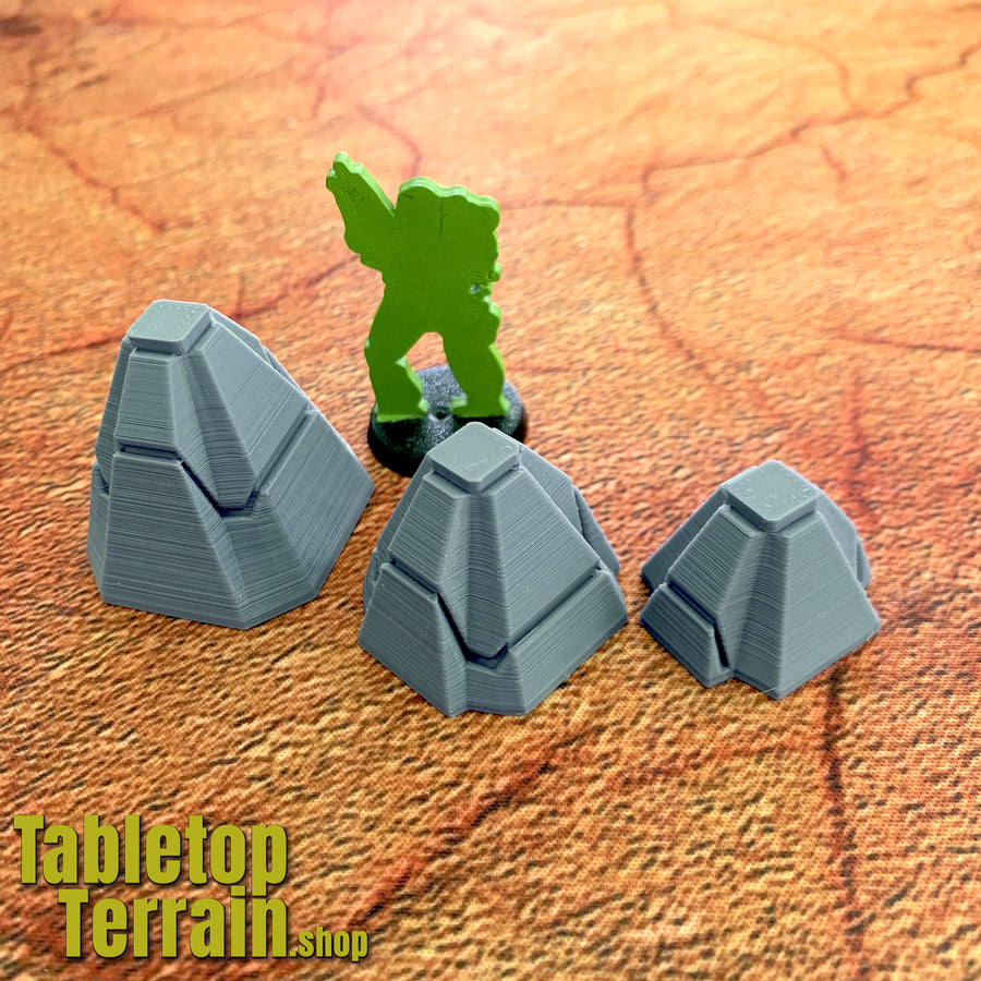 Dragons Teeth Tank Trap Set