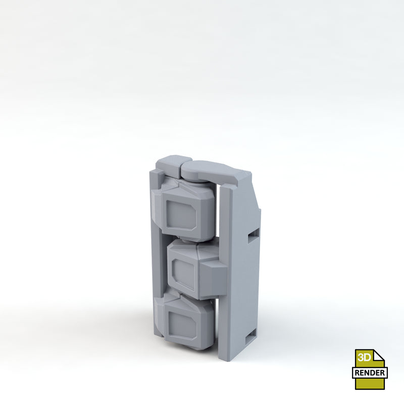 MOP Defence Wall Short Hinge
