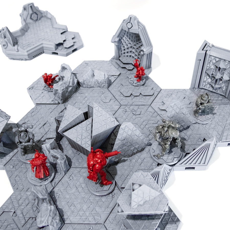 Blackstone Fortress Compatible Tile Set Basic Edition