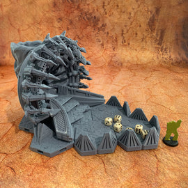 Sci-Fi Warp Gate Dice Tower