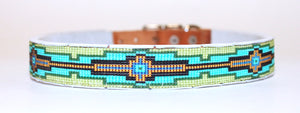 Hand-beaded collars size LARGE