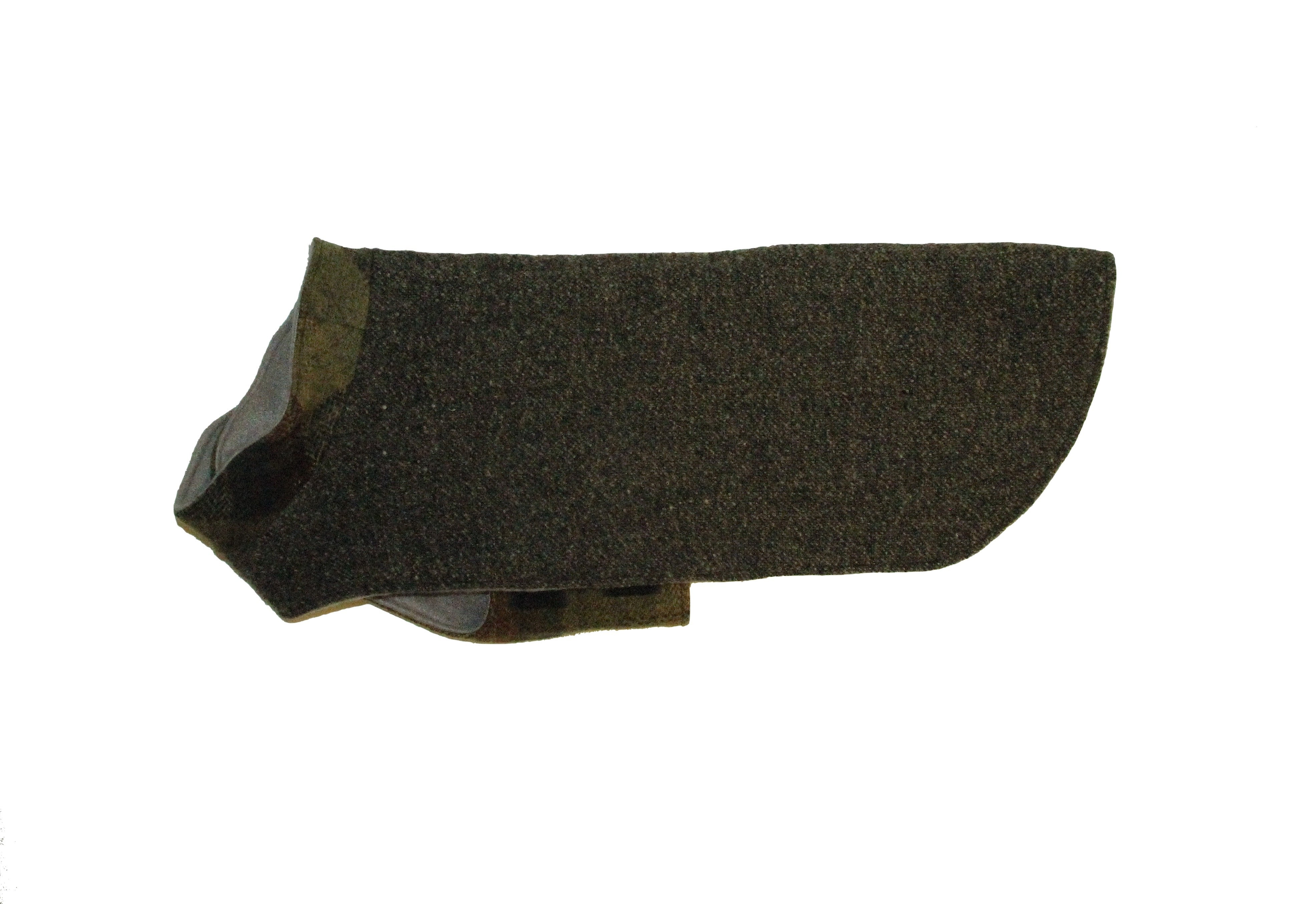 Upcycled Sweater (small + long, grey wool tweed)