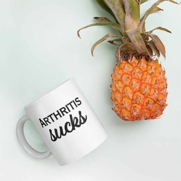 Arthritis Sucks (Double-Sided Design 11oz. and 15oz. Mug)