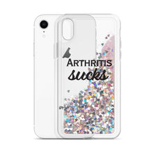 Arthritis Sucks (Liquid Glitter iPhone Case)