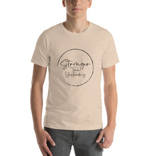 Stronger Than Yesterday (Short-Sleeve Unisex T-Shirt)