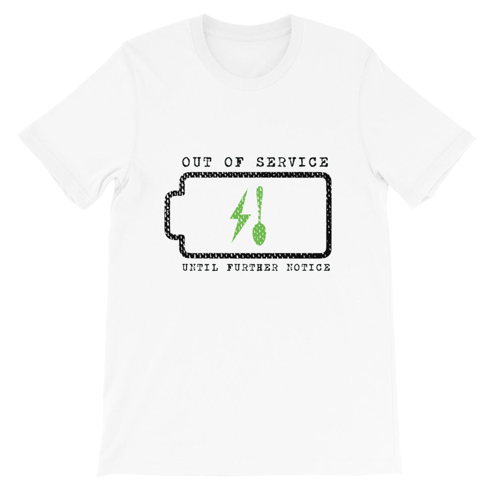 Charging My Spoons (Short-Sleeve Unisex T-Shirt)