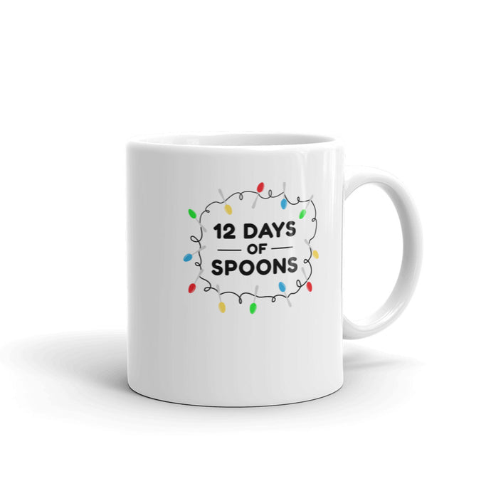 12 Days of Spoons (Christmas/Holiday Mug)