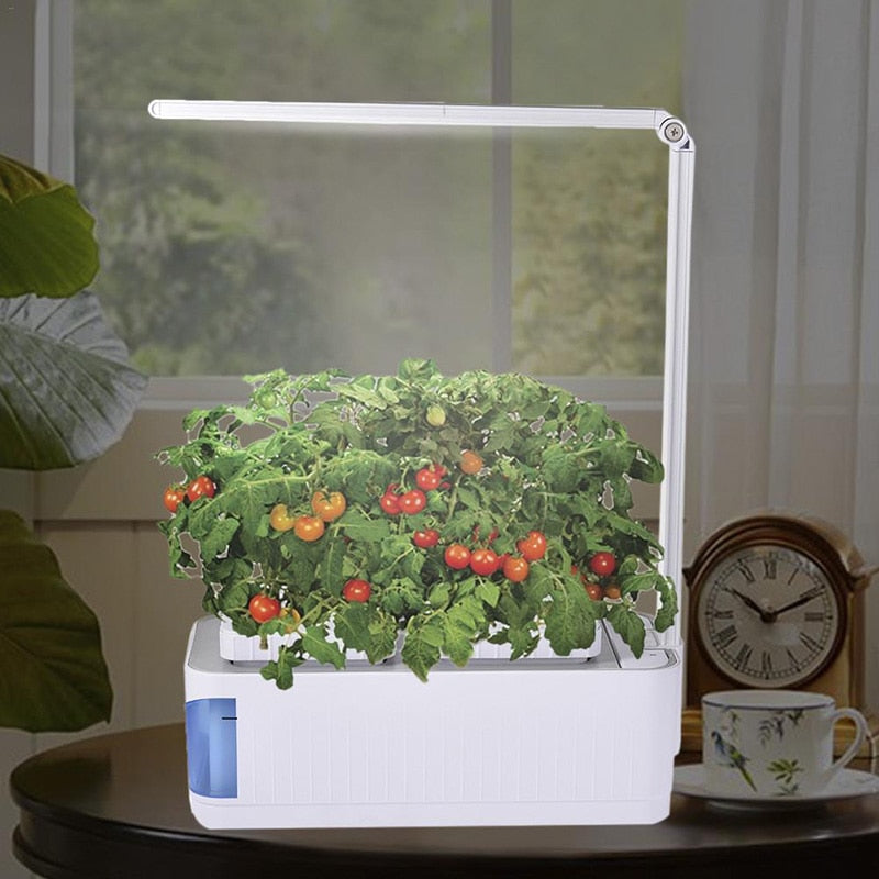 Hydroponic Indoor Smart Garden-Solhoppa-Lamp with EU Plug-SolHoppa