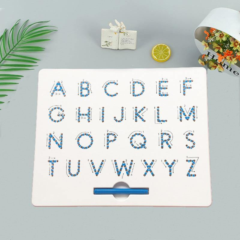 51.99 |  26 Alphabet Numbers Magnetic Tablet Drawing Board Pad |  Solhoppa