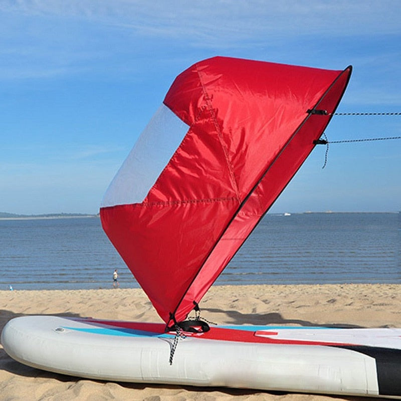 Foldable Air Kayak-Solhoppa-Orange-SolHoppa