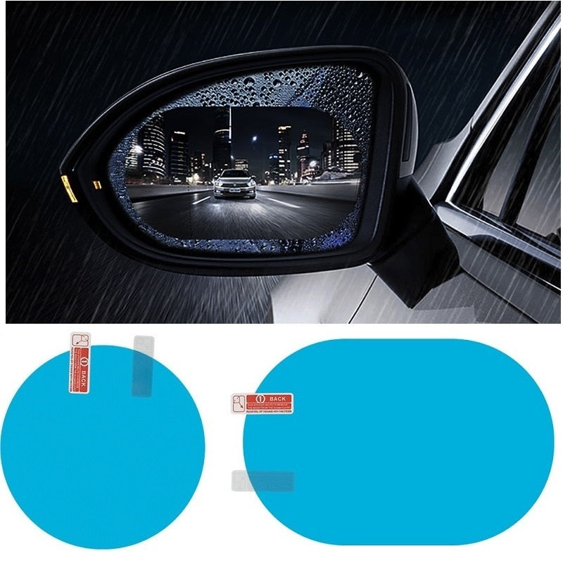 Anti Fog Car Rearview Mirror Protective Film-Solhoppa-2 pcs 80 X 80 mm-SolHoppa