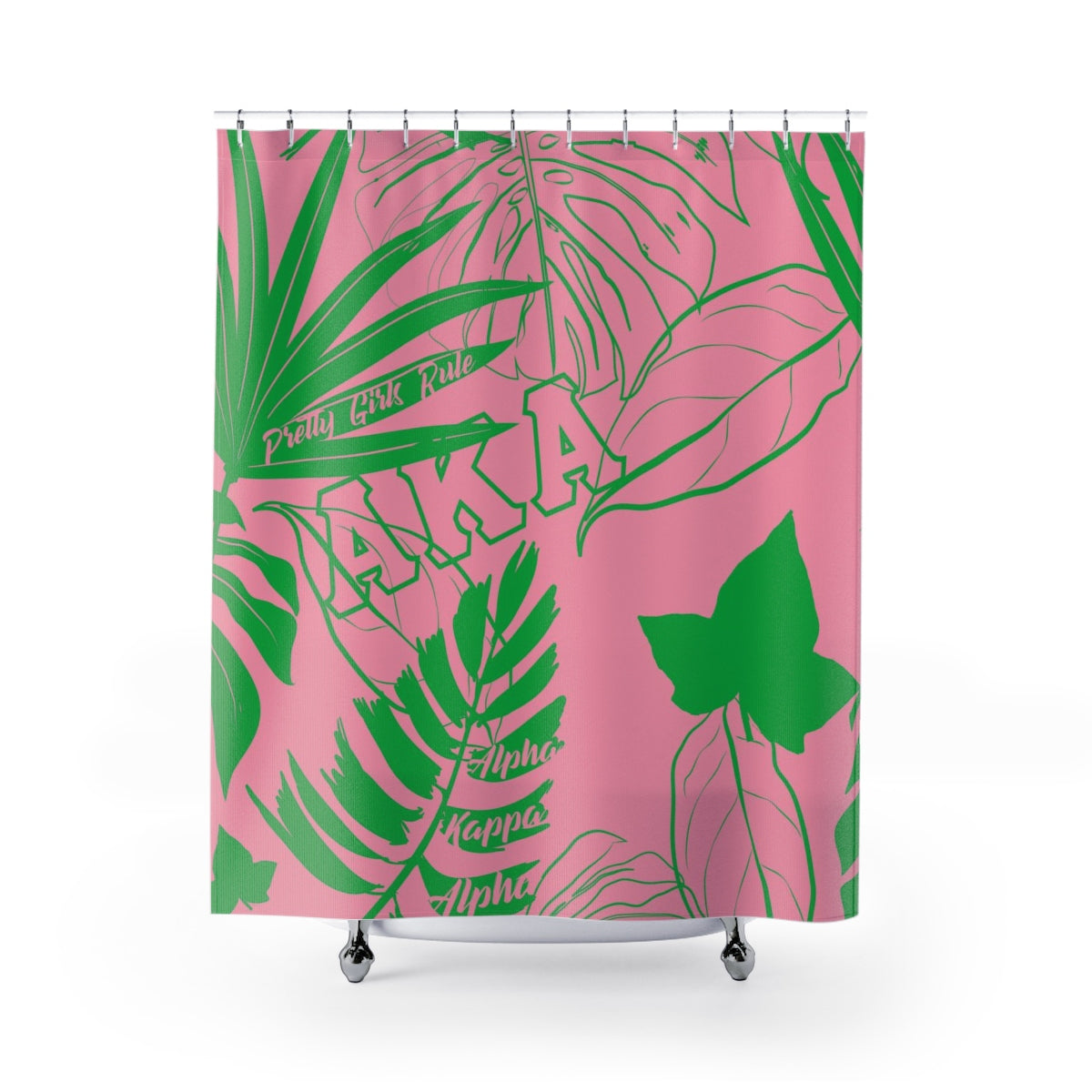AKA Tropical Shower Curtains