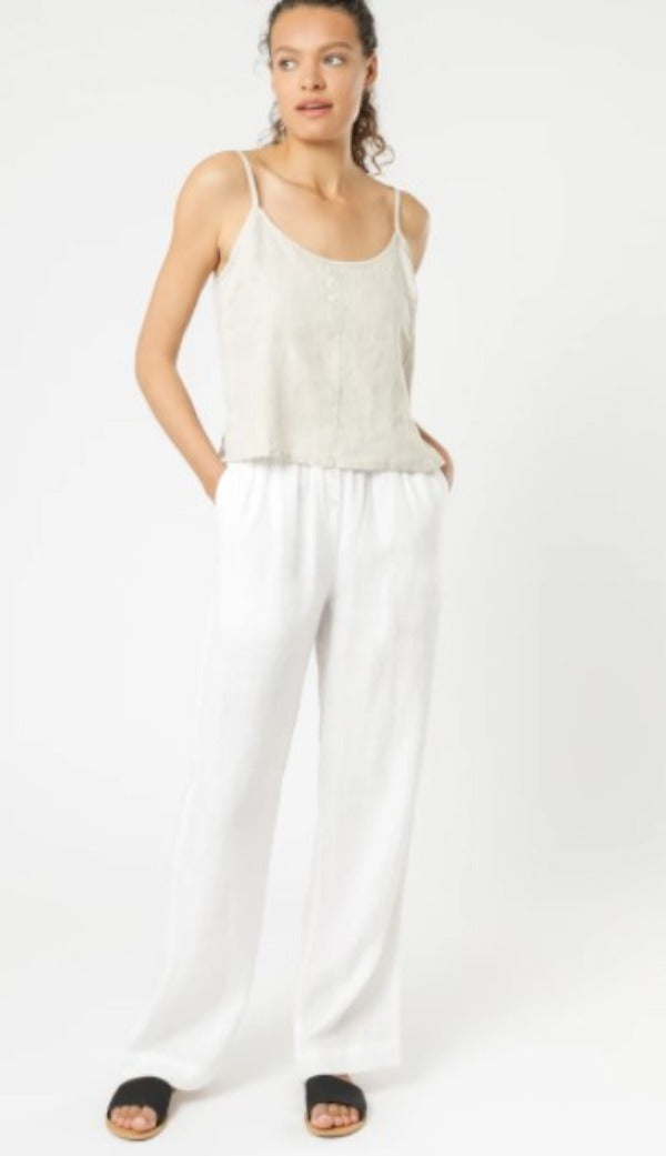 Nude Lucy Nude Linen Lounge Pants White