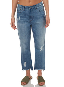 Res Denim Bailey Straight - Blue Denim