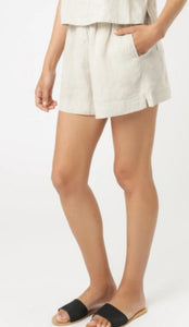 Nude Lucy Nude Linen Lounge Short Natura