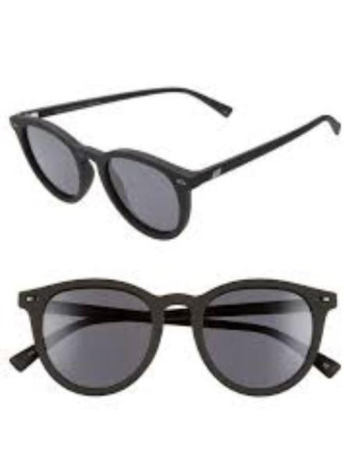 Le Specs Fire Starter Black Rubber Polarized