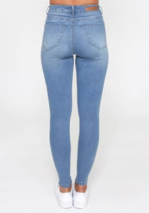 Monaco Jeans Khloe Jean Light Blue Wash