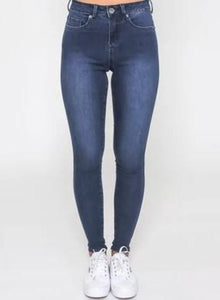 Monaco Jeans Khloe Ink Wash High Rise Jean