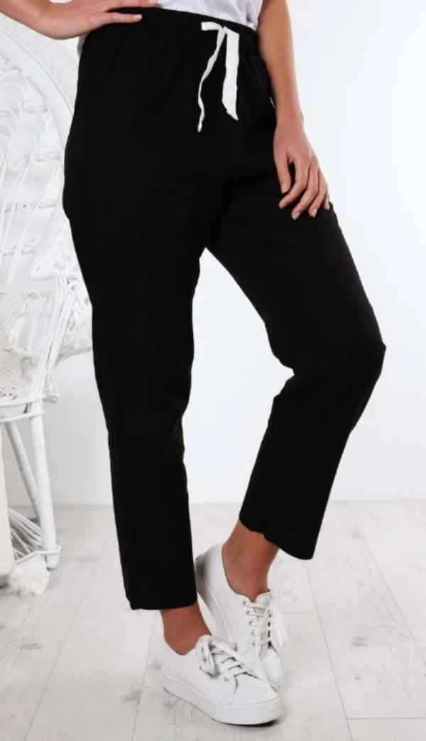 Nude Lucy Nude Classic Pant Black